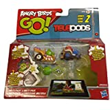 Angry Birds Go Kart Multi Figure Pack Tele Pods Multi Pack Series 2 *FREE UK SHIPPING*