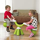 TP Spiro Bouncer Seasaw Lime and White