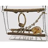 Rosewood Small Animal Activity Toy Activity Suspension Bridge Boredom Breaker