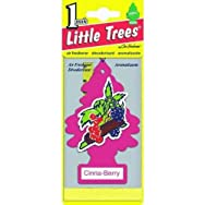 Car-FreshnerU1P-10318Little Trees Car Air Freshener-CINNA-BERRY AIRFRESHENER
