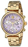 Versace Women's VLB100014 Day Glam Gold Ion-Plated Stainless Steel Watch