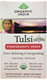 Organic India Tulsi Tea, Pomegranate Green, 18 Count