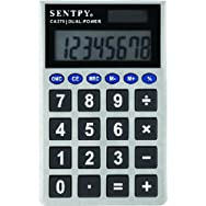 Sentry Industries CA279 Jumbo Key Pocket Calculator-JMBOKEY POCKT CALCULATOR