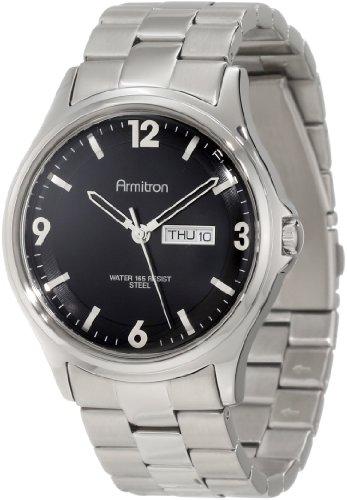 Armitron 20/4847BKSV - Reloj para hombres