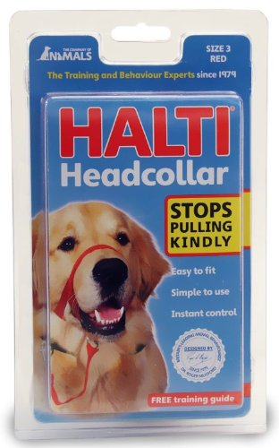 Halti Dog Training Head Collar Red Size 3