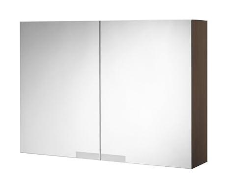 Tiger Items Spiegelschrank eiche dunkel 50x70 cm, 591527900
