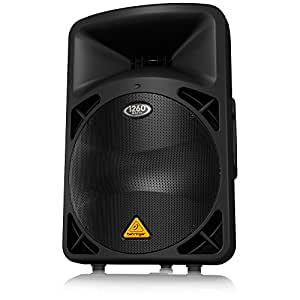 "DSP-Controlled 1,260-Watt 15"" PA Speaker, Neodymium Speaker,Integrated Mixer"