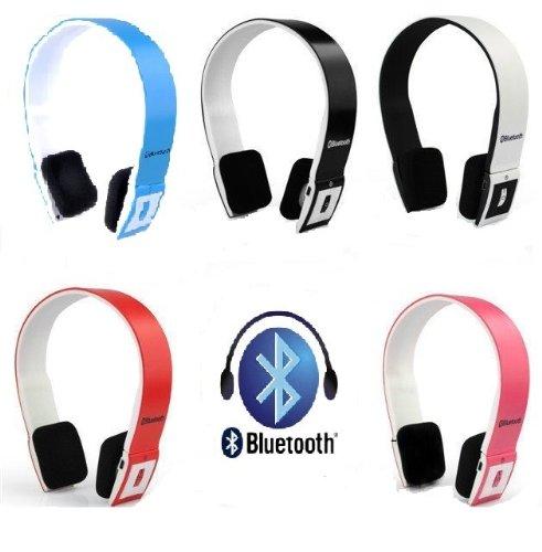 Wireless Bluetooth V3.0+Edr Stereo Universal Headset Headphone For Mobile Cellphone Laptop Pc Tablet (Black)