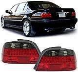 7er BMW E38 94-01 KLARGLAS LED R�CKLEUCHTEN ROT SCHWARZ