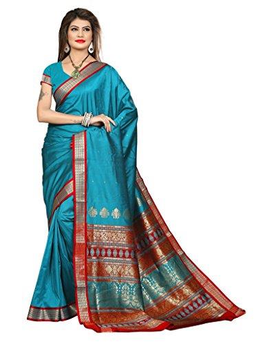 Shobha Sarees Boomkai Mysore Silk Saree (Green)