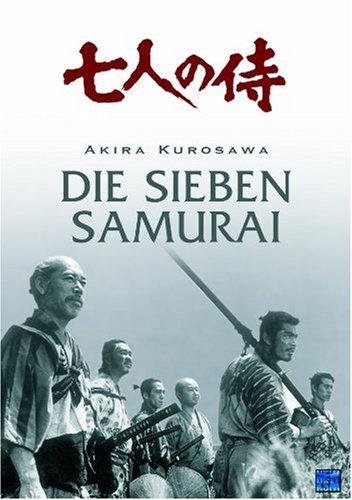 Die sieben Samurai - Complete Edition. Kurz + Lang Fassung (3 DVDs im Digipack)