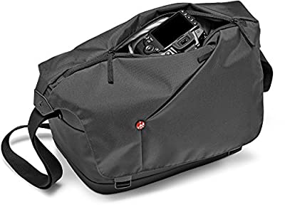 Manfrotto MB NX-M-IGY Messenger Bag for DSLR with Additional Lens & Personals (Grey)