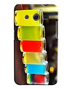 Omnam Glass Made Of Drinks Printed Designer Back Cover Case For Samsung Galaxy Core 2