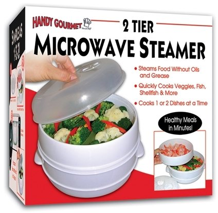 Hgm 2 Tier Microwave Steamer