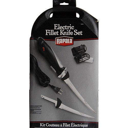 Kitchen Ac Fillet Knife Set, Wall-Powered, Air Flow Design, Relaxed Body Grip