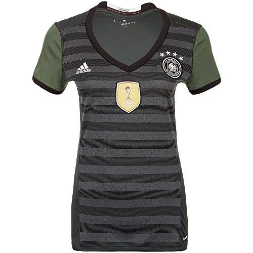 adidas DFB Trikot Home/Away EM Frankreich 2016 Damen grau – Away, S – 34/36