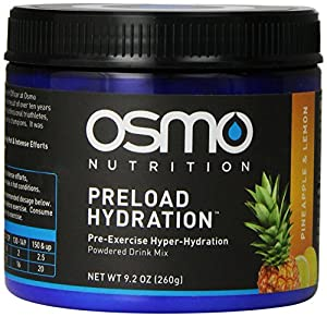 OSMO Nutrition Preload Hydration Mix, Pineapple and Lemon, 9.2 Ounce