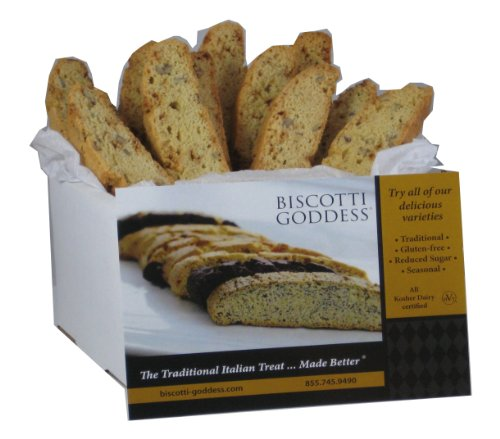 Biscotti Goddess Biscotti, Toffee Pecan, 12 Count