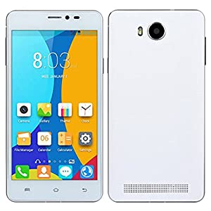 JIAKE V10 Android 4.4 3G Smartphone WIFI 5.0 Inch 2-Points Capacitive Touch Screen MTK6572 Dual Core Dual Cameras 5.0 MP GPS Bluetooth Games Dual SIM Dual Standby Mobile Phone