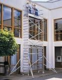 Aluminium Roll Driving Beam Platforms 2m Distance Working Height to 10.50m; Scaffold Scaffolding Size 0.75m x 3m