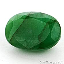 buy Lab Certified Aaa Quality 5.57Cts Mixed Cut Oval Shape Natural Emerald Loose Gemstone For Making Rings Em-216613