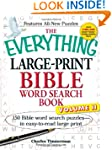 The Everything Large-Print Bible Word...