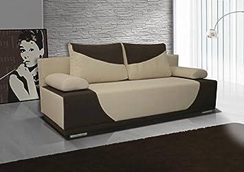 3er Sofa Dia mit Staukasten und Bettfunktion - Abmessungen: 200 x 90 cm (B x T)