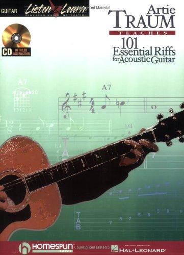 Traum Artie 101 Essential Riffs For Acoustic Guitar Listen & Learn