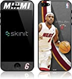 Skinit Miami Heat LeBron James #6 Action Shot Vinyl Skin for Apple iPhone 5
