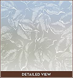 Everleaf Etched Glass Window Film - Privacy (22 in X 48 In)