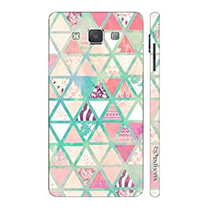 Enthopia Designer Hardshell Case Chevy Triangles Back Cover for Samsung Galaxy Grand Max
