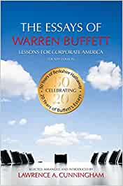 the essays of warren buffett audio Epub electronic book the essays of warren buffett: lessons for corporate america, fourth edition by lawrence a cunningham for iphone, ipad txt format version, file with page numbers the essays of warren buffett: lessons for corporate america, fourth edition by lawrence a cunningham kindle edition with audio multimedia cd video hardcover new.