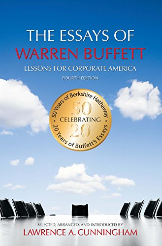 essays on corporate america Download free ebook:the essays of warren buffett: lessons for corporate america, second edition - free chm, pdf ebooks download.