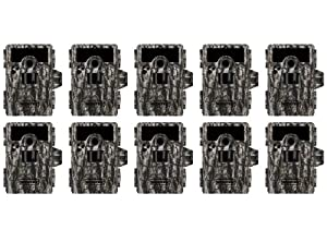 Buy 10 MOULTRIE Game Spy M-990i No Glow Infrared Digital Trail Hunting Cameras -10MP by Moultrie