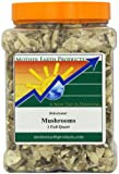 Mother Earth Products Dried Mushrooms, 1 Full Quart