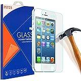 PLT24 9H Hartglas / Panzerglas für iPhone 5 / iPhone 5S / iPhone 5C / Displayschutzglas / Tempered Glass / Panzer Glas Display Schutz Folie / Schutzglas / Echte Glas / Verbundenglas / Glasfolie