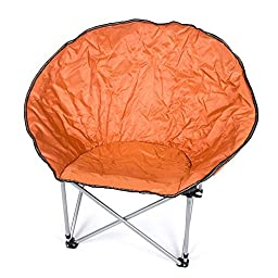 Durable Camping Beach Indoor/Outdoor Leisure Moon Chair Folding Chair