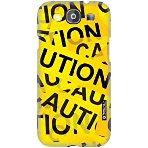 Printland Back Cover For Samsung Galaxy S3 Neo - Caution Designer Cases
