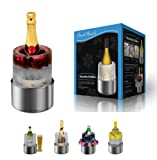 Ice Wine Champagne Bottle Chiller Cooler Stainless Steel Bucket