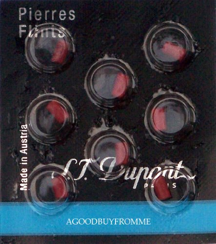 st-dupont-lighter-flints-red-ligne-d-packet-of-8