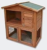 Cabane furet et lapin à deux étages