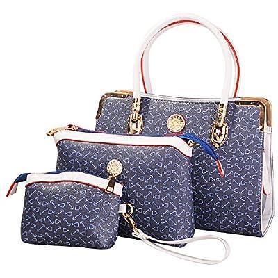 Sac à main femme Sacs bandoulière Sacs à main en cuir Motif vintage Nouveau design + Sac Bandoulière + porte-monnaie