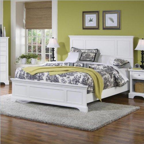 White Queen Bedroom Set 177493 front