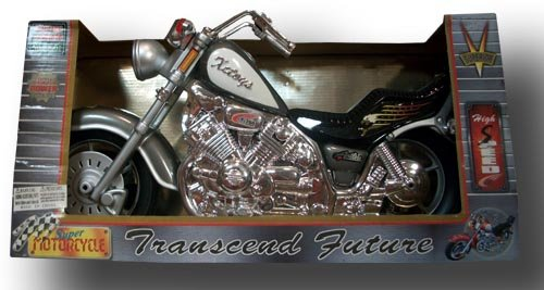 SILVER SUPER MOTORCYCLE