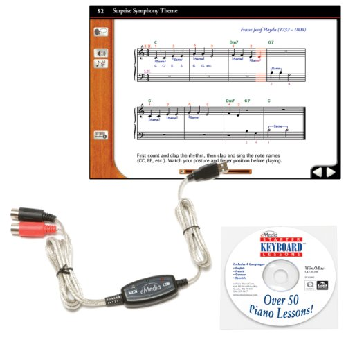 Why Choose The eMedia Keyboard USB MIDI Interface Kit