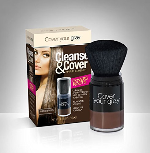 Cover Your Gray Cleanse & Cover Hair Freshener (DARK BROWN)