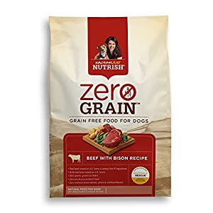 Rachael Ray(TM) Nutrish® Zero Grain(TM) Natural Dry Dog Food, Beef with Bison Recipe, 11 lbs