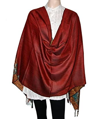 Reversible Party Wear Pashmina Stole Shawl