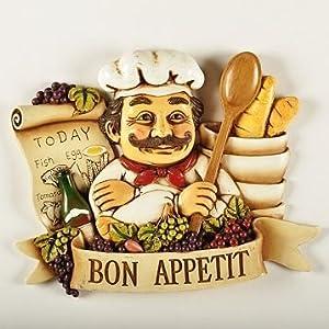 Bon Appetit Chef Kitchen Decor And Accessories