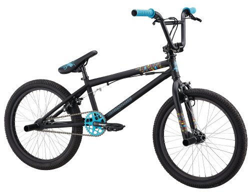 Mongoose Subject BMX Freestyle Bike - 20-Inch Wheels (Matte Black)
